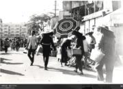 大埔普益街,攝於1974年。(香港政府檔案處網站圖片)