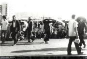 大埔普益街近廣福道,攝於1974年。(香港政府檔案處網站圖片)