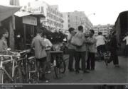 大埔普益街近安富道,攝於1974年。(香港政府檔案處網站圖片)