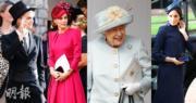 【尤金妮亞公主婚禮】英國王室成員、各界名人盛裝赴會。(法新社)