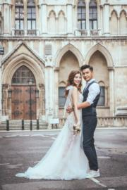 到歐洲影結婚照是Phoebe的夢想。(資料圖片)