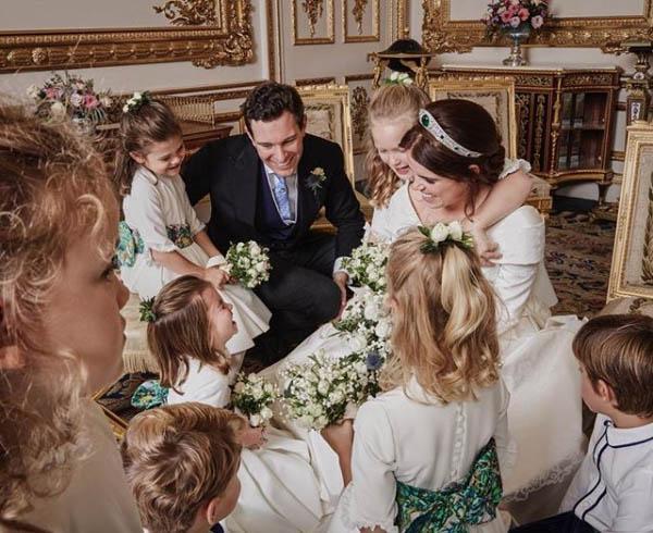 【英女王孫女出嫁】尤金妮亞公主婚禮