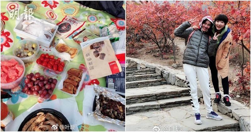 【一反常態】被頒「限制消費令」後 葉璇孖友人郊外野餐