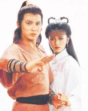 1983年,陳玉蓮與劉德華合演電視劇《神鵰俠侶》,分別飾演小龍女、楊過,成為經典。(劇照)