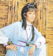 翁美玲在1983年電視劇《射鵰英雄傳》飾演聰明任性的女主角黃蓉。(資料圖片)