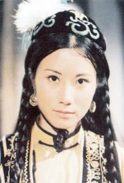 1976年電視劇《書劍恩仇錄》,汪明荃飾演女主角霍青桐。(資料圖片)