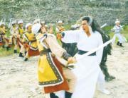 1983年電視劇《神鵰俠侶》:劉德華(右)飾演楊過。(劇照)