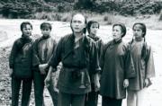 1984年電視劇《鹿鼎記》:梁朝偉(中)飾演韋小寶。(黑白劇照)