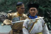 1984年電視劇《鹿鼎記》:劉德華(左)飾演康熙、梁朝偉(右)飾演韋小寶。(劇照)
