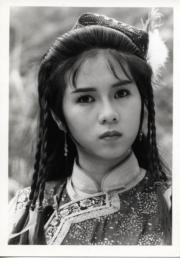 1987年劇集《書劍恩仇錄》:羅慧娟飾演霍青桐。(黑白資料圖片)