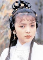 1982年劇集《天龍八部》,陳玉蓮飾王語嫣(劇照)