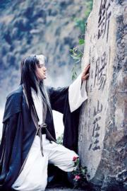 2006年電視劇《神鵰俠侶》,黃曉明飾演楊過。(劇照)