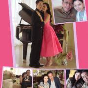 李嘉欣與亨亨甜蜜慶祝十周年,在微博放閃,好多美麗回憶。(網上圖片)