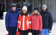 【外訪挪威】英國劍橋公爵伉儷(左)與挪威王儲哈康伉儷(右)(Kensington Royal Twitter)