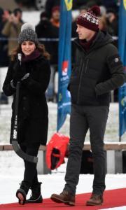英國威廉王子與妻子凱特 (法新社)