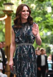 2017年7月20日,凱特在德國柏林出席晚宴。(法新社)