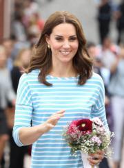 2017年7月20日,凱特到訪德國海德堡。(法新社)