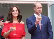 2017年7月19日,威廉王子和凱特已在德國柏林。(Kensington Royal Twitter圖片)