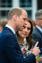 2017年7月18日,英國劍橋公爵伉儷威廉王子和凱特,在波蘭Gdansk附近參觀集中營 (Stutthof concentration camp)。