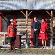 威廉與凱特到訪MacBride Museum。(The Royal Family Instagram圖片)