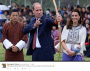 Kensington Palace Twitter 12月17日貼圖