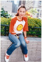 張栢芝出道時是陽光少女。(資料圖片)