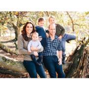 【英國王室新相迎聖誕】威廉凱特最新全家福 路易小王子坐定定 哈里梅根甜蜜看煙花
