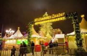 【世界各地迎聖誕】德國柏林的聖誕市集。圖片攝於2018年12月25日。(新華社)