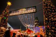 【世界各地迎聖誕】德國柏林的聖誕市集。圖片攝於2018年12月17日。(法新社)