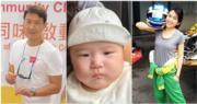 51歲黎明今年4月驚爆做老竇,女助手阿Wing為他早產誕下5磅B女。(資料圖片/網上圖片/明報製圖)