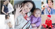 《東張西望》女主持梁麗翹今年5月榮升媽咪,誕下B女Nanette。(資料圖片/網上圖片/明報製圖)