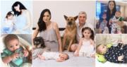 38歲Ana R.今年再為人母,誕下9磅巨B。(資料圖片/網上圖片/明報製圖)