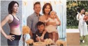 38歲何嘉莉宣布意外懷有第三胎,已計劃剖腹生B女。(資料圖片/網上圖片/明報製圖)