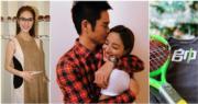 27歲的陳凱琳今年8月嫁給49歲的鄭嘉穎,11月宣布懷有男B。(資料圖片/網上圖片/明報製圖)