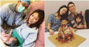 台灣藝人隋棠順利誕下第3胎。(資料圖片/網上圖片/明報製圖)