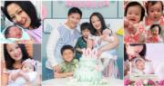 34歲陳倩揚再為老公陳浩然誕8磅重女兒陳希桐(Aurella)。(資料圖片/網上圖片/明報製圖)