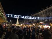 【世界各地迎聖誕】丹麥哥本哈根的聖誕市集。圖片攝於2018年11月25日。(黃廷希攝)