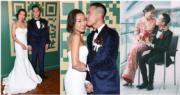 卓韻芝和老公梁子賢在颱風襲港下舉行婚禮,果然打風都打唔甩﹗(資料圖片)