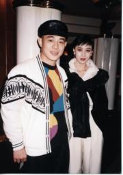 李連杰與利智拍《龍在天涯》結戲緣而發展戀情。(資料圖片)