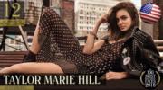 【全球百大美女2018】第12位:美國模特兒Taylor Marie Hill(YouTube截圖)