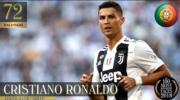 【全球百大俊男2018】第72位:C朗(Cristiano Ronaldo)(TC Candler Youtube截圖)