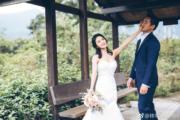 【2018最美新娘】林芊妤(左)與翟志榮(右)(林芊妤微博圖片)