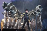古巨基穿上盔甲,一出場就勁歌熱舞。(資料圖片)