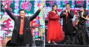 古天樂首奪叱咤樂壇我最喜愛的男歌手,古仔還罕有現身領獎,令樂迷甚至歌手們驚喜萬分。(娛樂組攝)