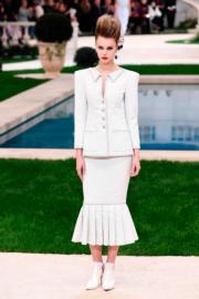 【巴黎2019年春夏高級訂造服時裝騷】Chanel 2019年春夏高級訂造服時裝騷(法新社)