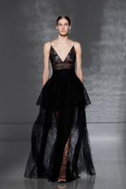 【巴黎2019年春夏高級訂造服時裝騷】Givenchy 2019年春夏高級訂造服時裝騷(法新社)
