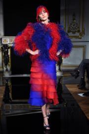 【巴黎2019年春夏高級訂造服時裝騷】Giorgio Armani 2019年春夏高級訂造服時裝騷(法新社)