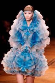 【巴黎2019年春夏高級訂造服時裝騷】Iris Van Herpen 2019年春夏高級訂造服時裝騷(法新社)