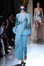 【巴黎2019年春夏高級訂造服時裝騷】Elie Saab 2019年春夏高級訂造服時裝騷(法新社)