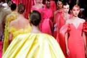 【巴黎2019年春夏高級訂造服時裝騷】Alexis Mabille 2019年春夏高級訂造服時裝騷(法新社)